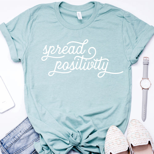 Spread Positivity Unisex T-shirt