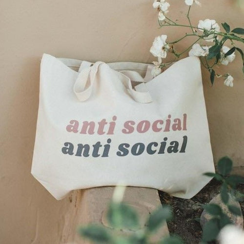 Anti Social Tote Bag
