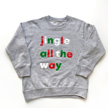 Jingle All The Way Kids Pullover Sweatshirt