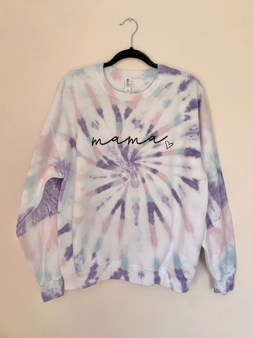 Custom Tie Dye | Adult Crewneck Sweatshirt