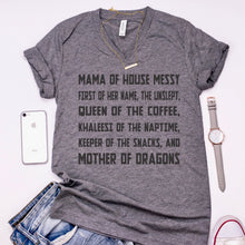 Mom of Thrones Unisex V-Neck T-Shirt | Game of Thrones Shirt