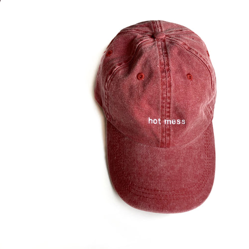 Hot Mess Hat
