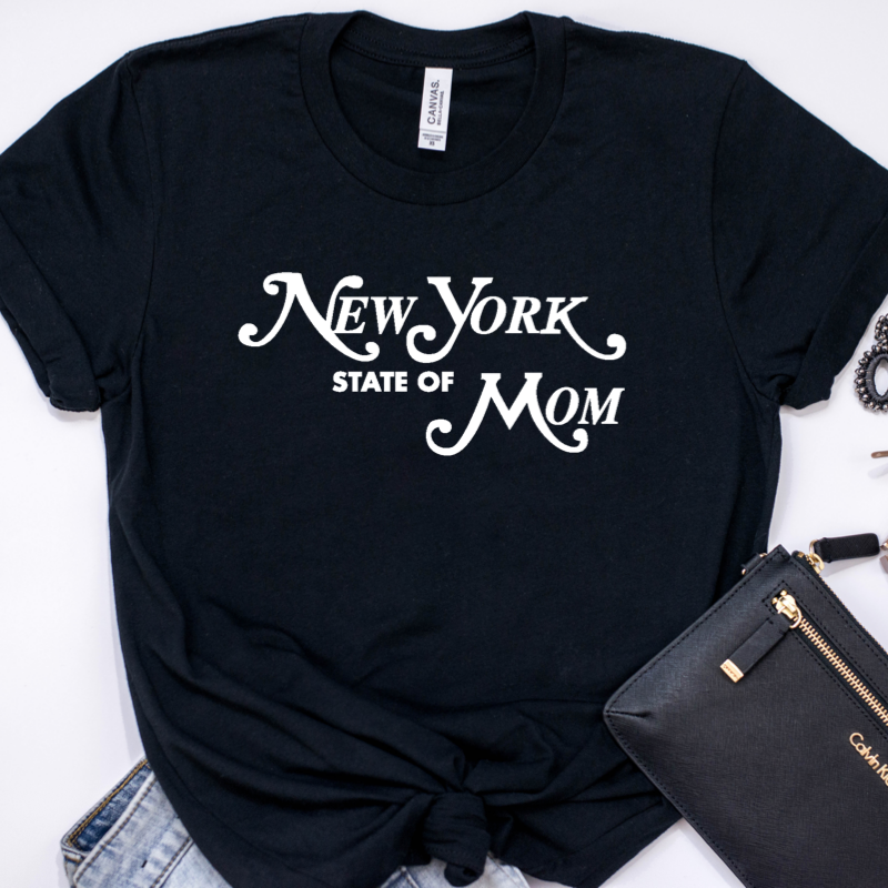 New York State of Mom T-Shirt