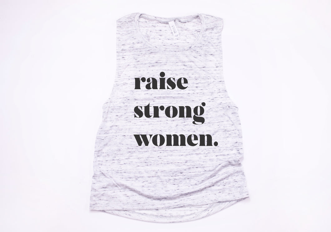 Raise Strong Women Flowy Muscle Tank