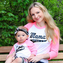 Mama Raglan with Personalized Year