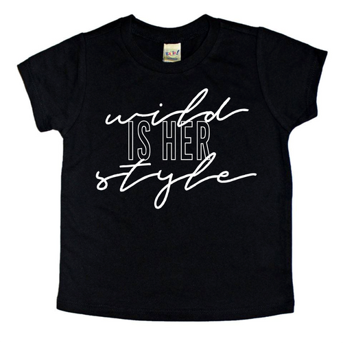 Wild Is Her Style - Girl's T-Shirt