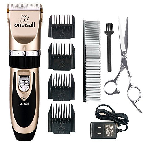 Grooming Clipper Kits Low noise Rechargeable Cordless