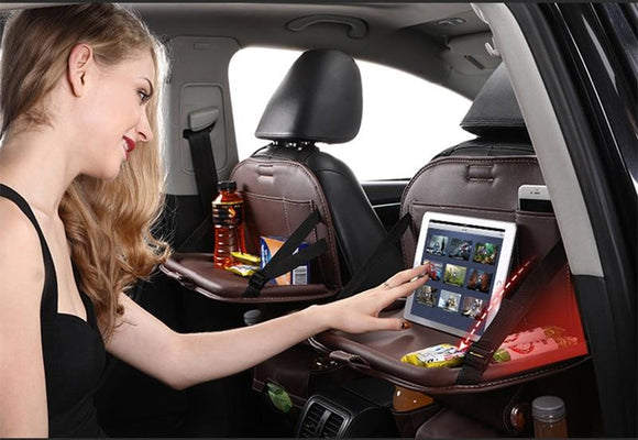 Keep Your Kids Occupied in the Car with the Back Seat Organizer!