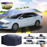 Protect Your Car from Any Weather with the Fully-Automatic Portable Car Cover!