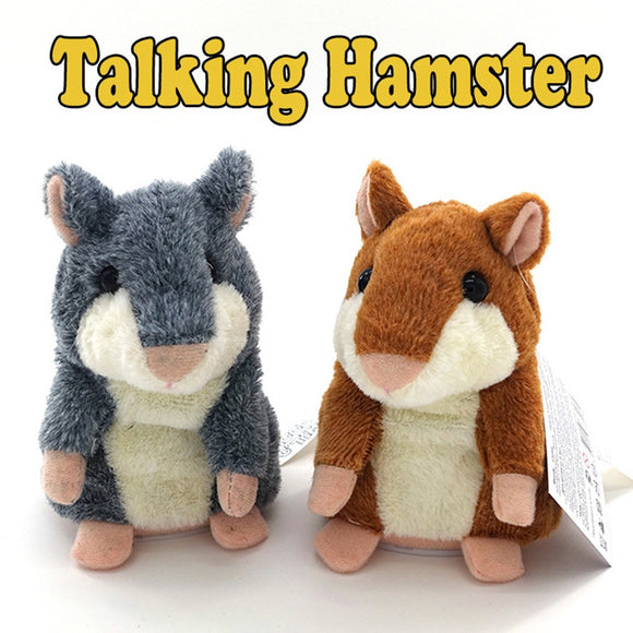 Bring Joy to Everyone with the Little Talking Hamster!