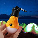 Portable Lanterns - Stay Out Of The Dark With The Portable Hanging LED Light Bulb!  Hangs Anywhere You Put It.  Perfect For Camping And Hiking!