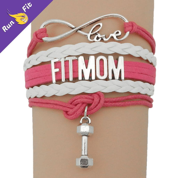 Bracelet Love Fit Mom 10 - 20 Fitness