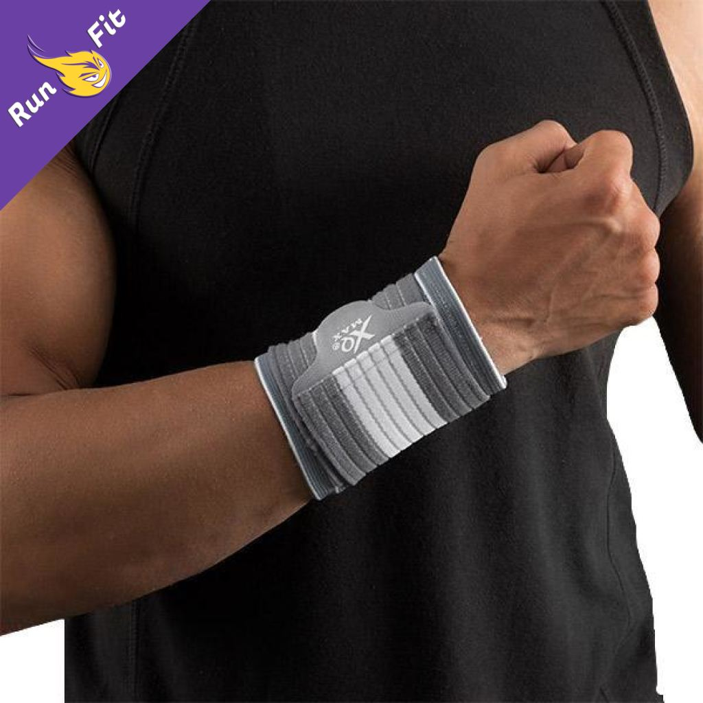 Strap Poignet De Sport Protection 10 - 20 Clothing Fitness Gris Clair L