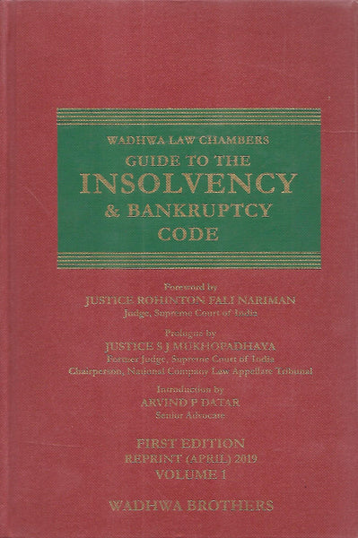 Wadhwa Law Chambers Guide to The Insolvency & Bankruptcy Code