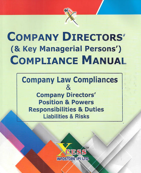 Company Directors' (& Key Managerial Persons') Compliance Manual