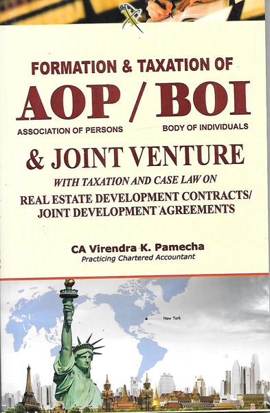 Formation & Taxation of AOP / BOI & Joint Venture