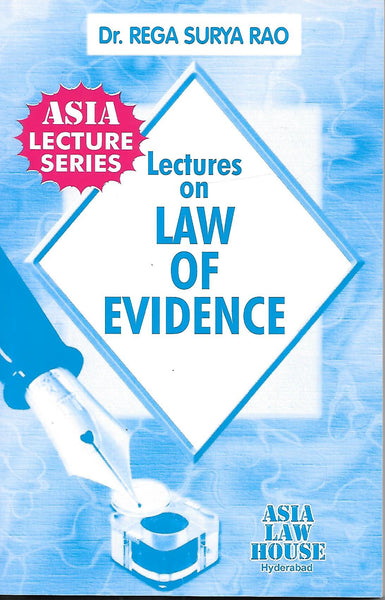 Lectures on Law of Evidence