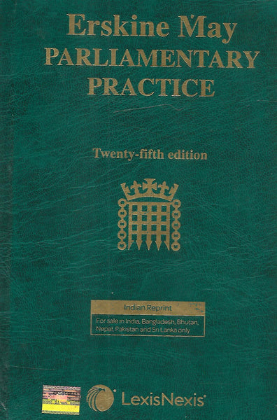 Erskine May Parliamentary Practice