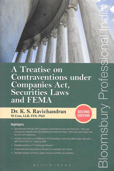 A Treatise on Contraventions Under Companies Act, Securities Laws and FEMA