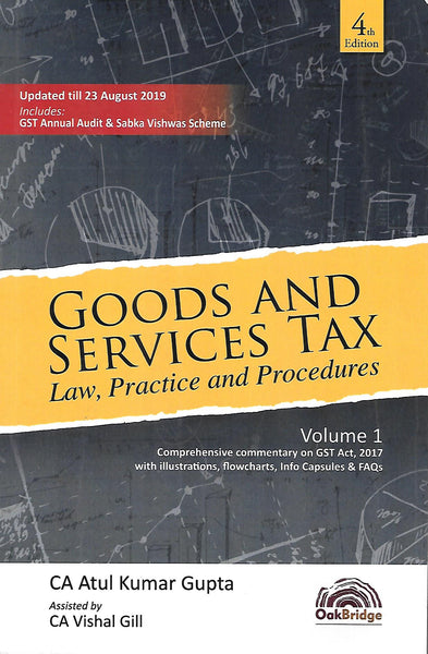 Goods and Services Tax Law, Practice and Procedures