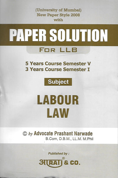 Paper Solution Labour Law