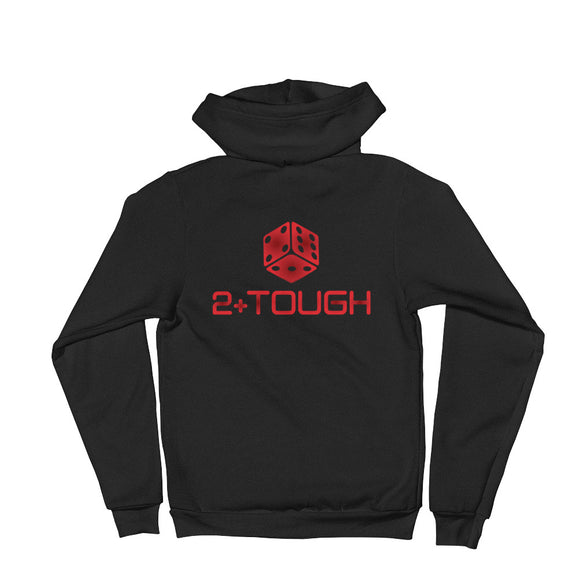 2+Tough Hoodie (Red Logo)