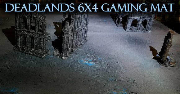 Deadlands Gaming Mat