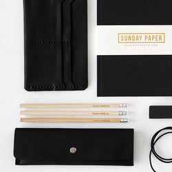 Wooden Pencil Set - Sunday Paper Co