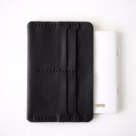 Slip Notebook Sleeve in Black
