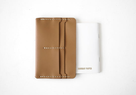 Slip Notebook Sleeve in Kraft