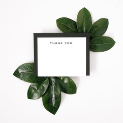 Thank You Letterpress Notecard Set