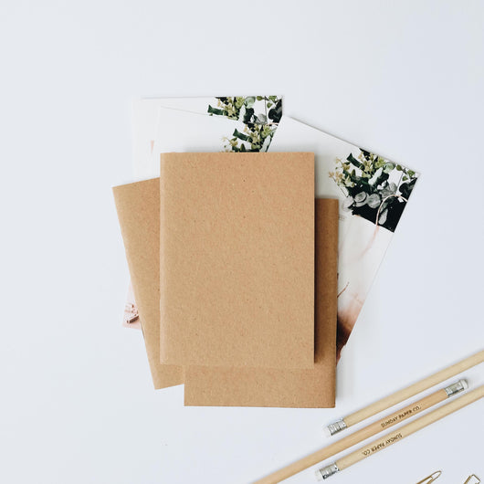Petite DIY Notebooks - Set of 12 Notebooks