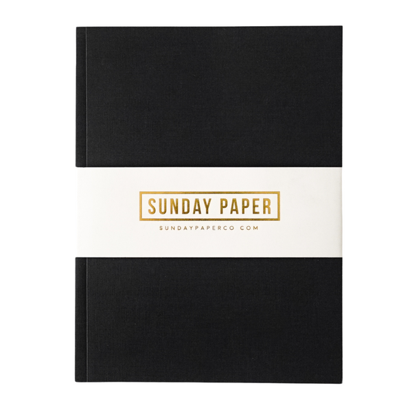 Simple Notebook in Black