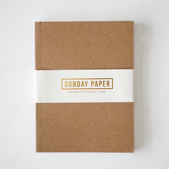 Simple Notebook in Kraft