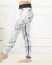 Girls Abstract Leggings -Yoga Pants