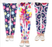 Girls Butterfly Print Leggings -Yoga Pants