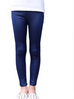 Girls Faux Leather Leggings -Yoga Pants