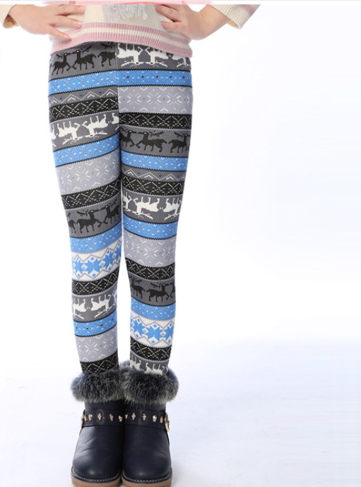 Girls New Winter Leggings -Yoga Pants