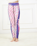 Girls Pink Stripe Leggings -Yoga Pants