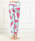 Girls Watermelon Print Leggings -Yoga Pants