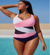 S-5XL Plus Size Women Swimsuit -Women Swimsuits