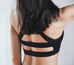 Women Wide Straps Sports Bra