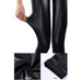 Women Faux Leather Leggings -Yoga Pants