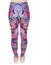 Women Flowers Leggings -Yoga Pants