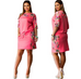 Women Lady Floral Dress -women dress