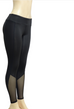 Women Mesh Splice Fitness Leggings -Yoga Pants
