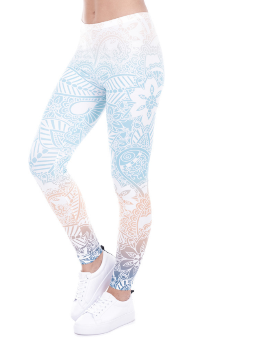 Women Mint Fitness Leggings -Yoga Pants