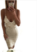 Women Noble Sequined Dress