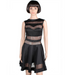 Women Sexy Black Mesh Dress -women dress