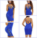 Women Sexy Choker Neck Dress -Women Dress
